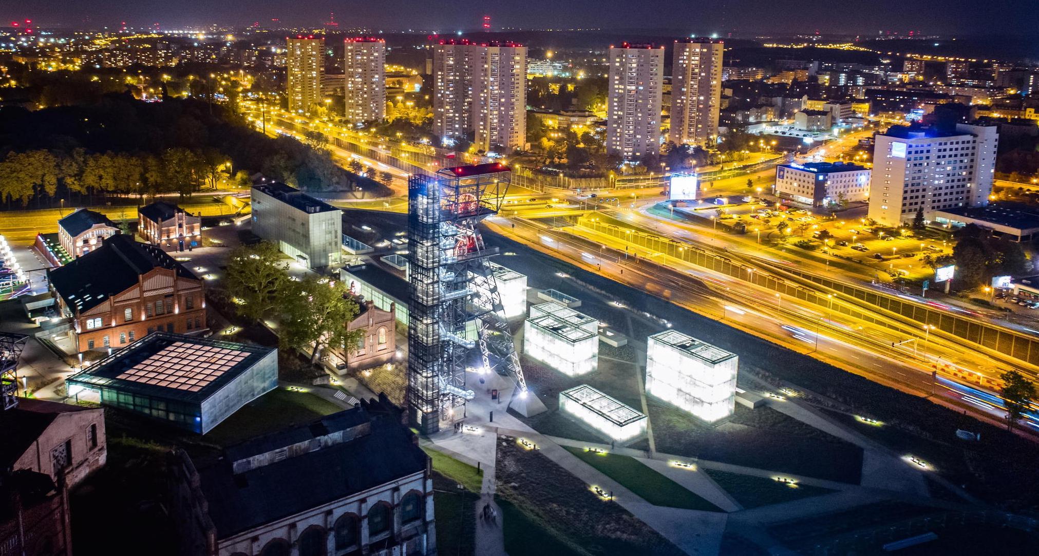 zarządzanie nieruchomościami oferowane przez ADM Property sp. z o.o. może obejmować nieruchomości widoczne na zdjęciu będącym panoramą Katowic a w przyszłości będzie zmienione na panoramę miasta Kraków