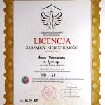Zarządca nieruchomości - licencja nr 55
