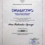 Zarządca nieruchomości - licencja nr 3223