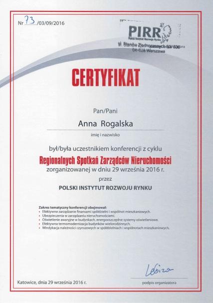 szkolenie Zarządcy ADM Property sp. z o.o. z tematyki windykacji należności we Wspólnocie Mieszkaniowej