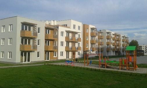 budynek wspólnoty mieszkaniowej przy ul. Bażantów w Katowicach