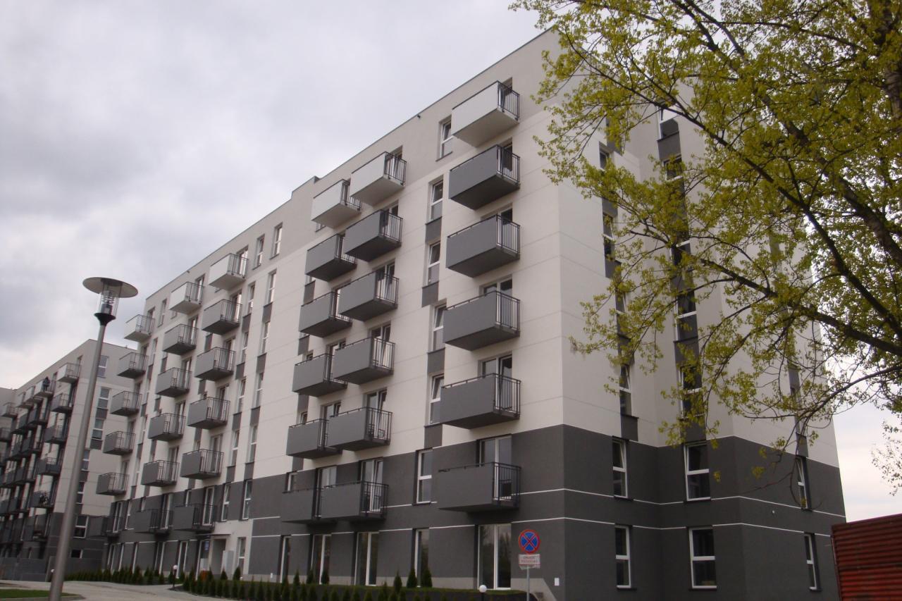 budynek Wspólnoty Mieszkaniowej przy ul. Bieńczyckiej 15c w Krakowie