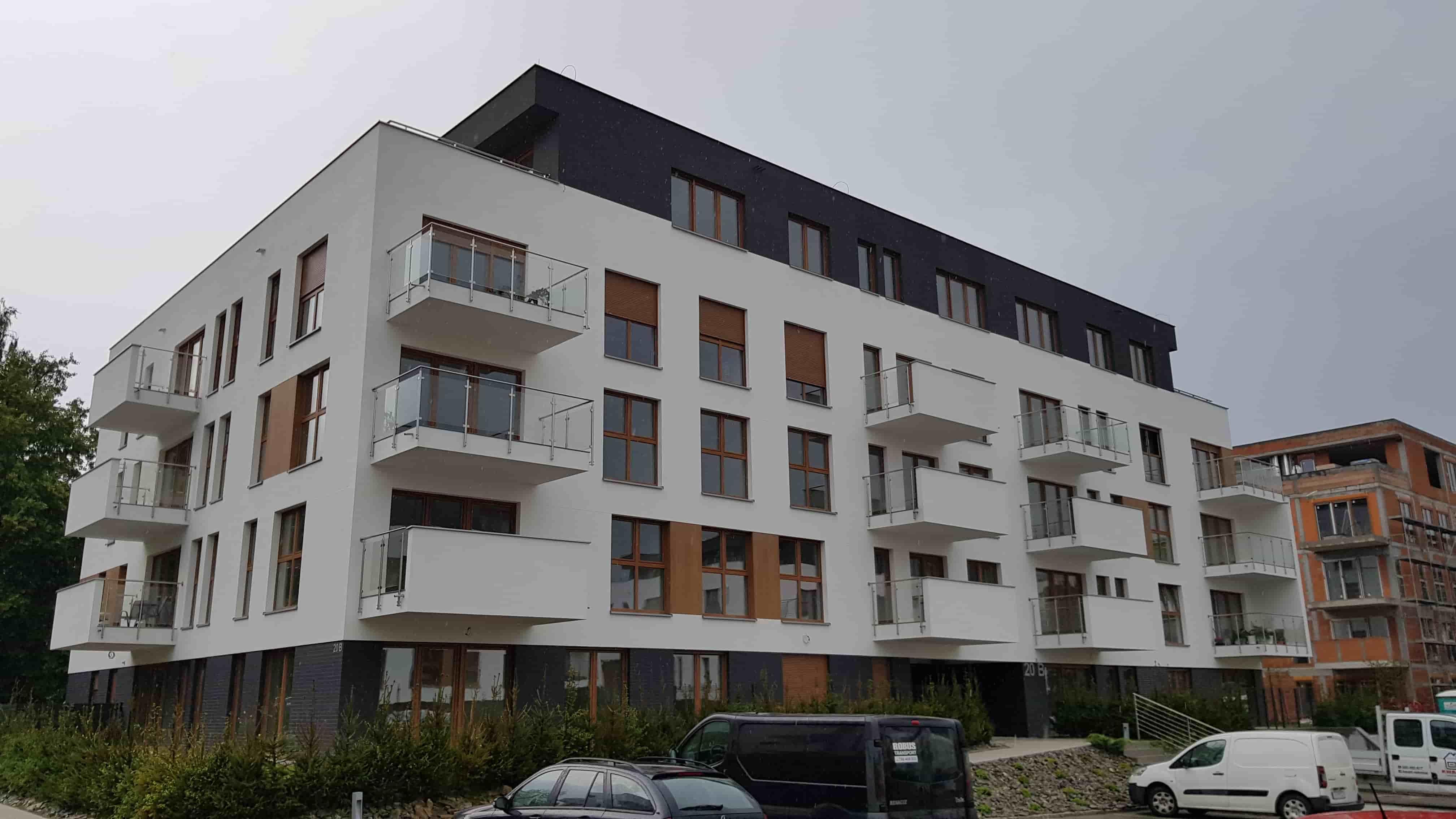 budynek Wspólnoty MIeszkaniowej przy ul. Bażantów 20b w Katowicach