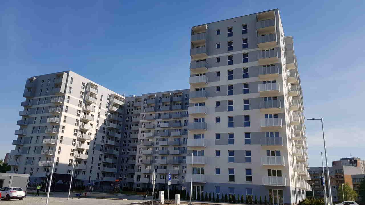 budynek Wspólnoty Mieszkaniowej przy ul. Bażantów 24, 26 w Katowicach będący w obsłudze ADM Property sp. z o.o.