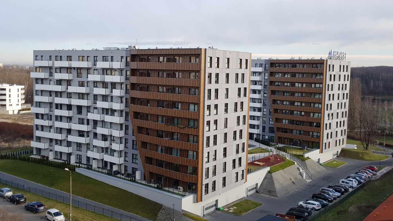 budynki Wspólnoty Mieszkaniowej przy ul. Pułaskiego 42 i 44 w Katowicach nad którymi zarząd pełni ADM Property sp. z o.o.