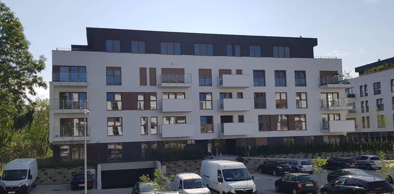 budynek Wspólnoty Mieszkaniowej przy ul. Bażantów 20ew Katowicach zarządzany przez ADM Property sp. z o.o.