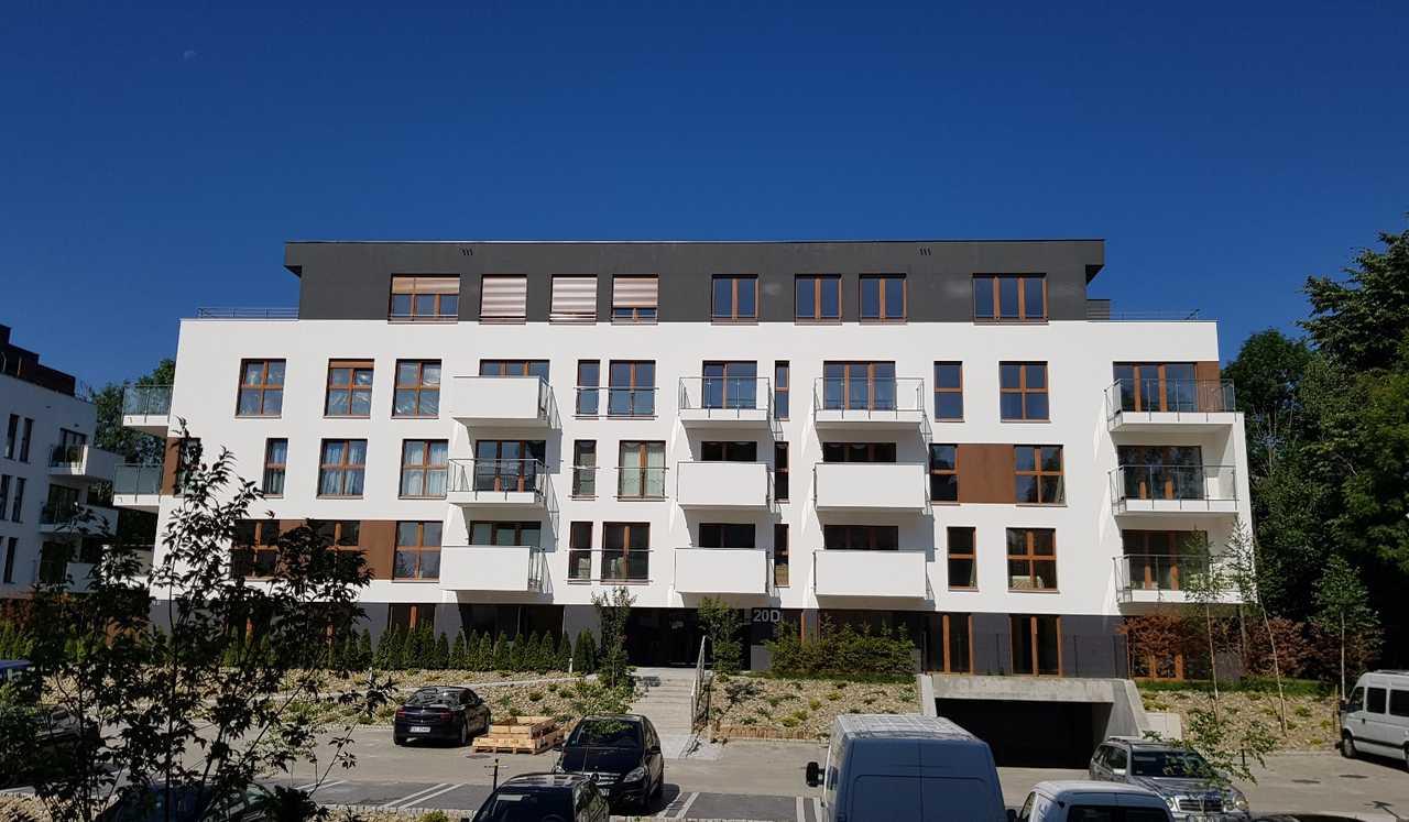 budynek Wspólnoty Mieszkaniowej przy ul. Bażantów 20d w Katowicach